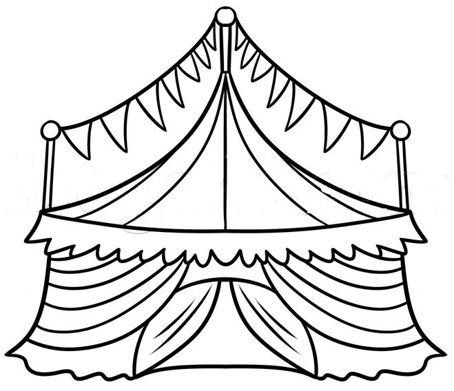 Картинки рисовать цирк